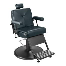 Cadeira Barbeiro Marri Milão Reclinável Preto Facto