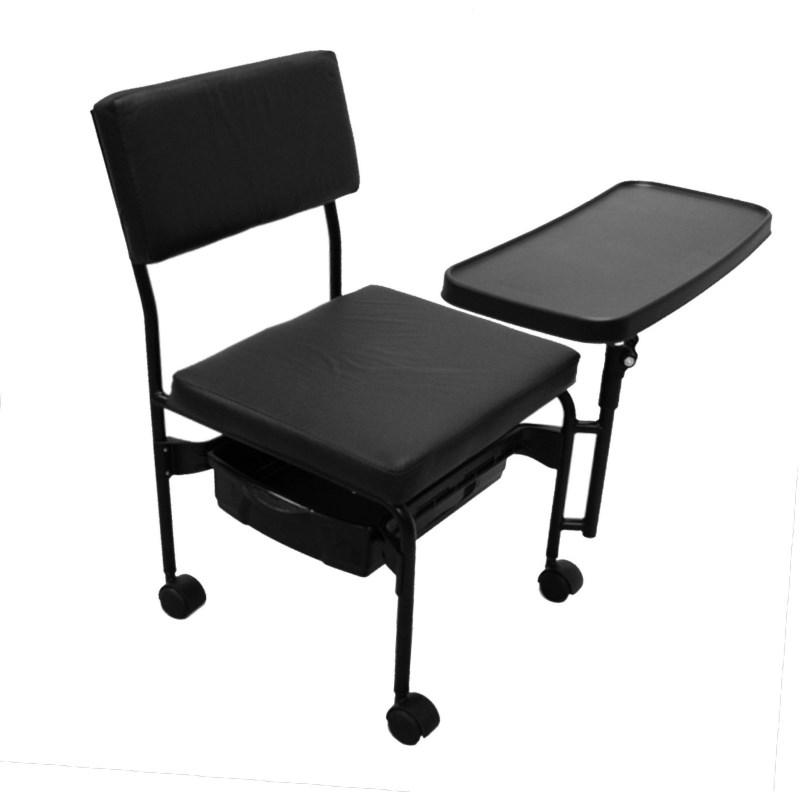 Cadeira Cirandão Dompel Paris com Mesa Preto