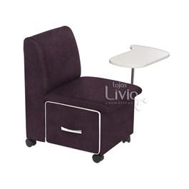 Cadeira Cirandinha Cromit Duna Bordô