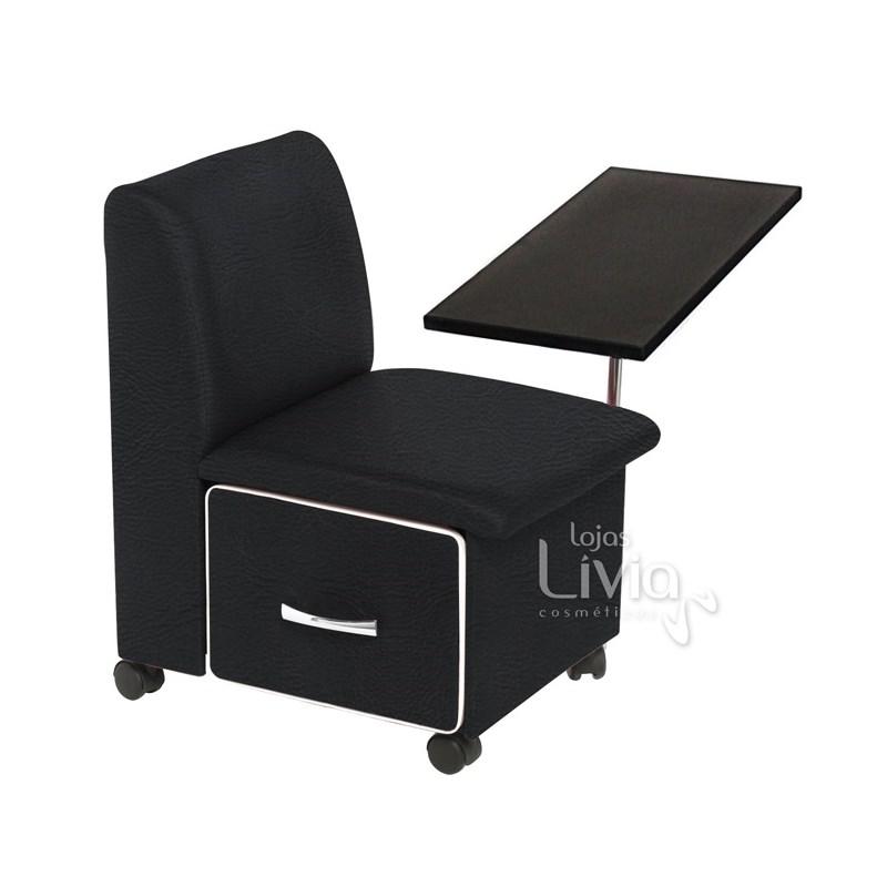 Cadeira Cirandinha Cromit Duna Preto