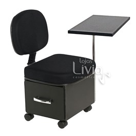Cadeira Cirandinha Cromit Manu Preto