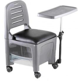 Cadeira Cirandinha Dompel Bari Cinza