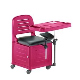 Cadeira Cirandinha Dompel Veneza Rosa