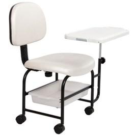 Cadeira Cirandinha Status Manicure Branco ST 220