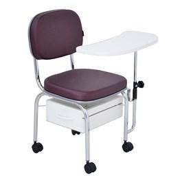 Cadeira Cirandinha Terra Santa Luxo Bordô Acetinado