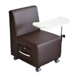 Cadeira Cirandinha Terra Santa Monet Marrom Acetinado