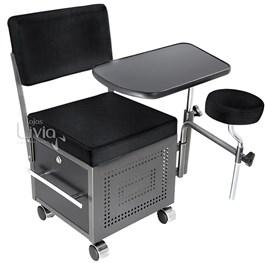 Cadeira Cirandinha Van de Velde Aquarius Preto