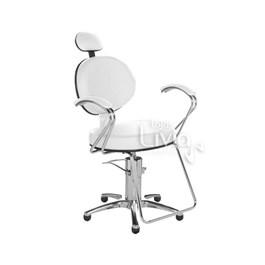 Cadeira Cromit Carol Luxo Fixa Branco