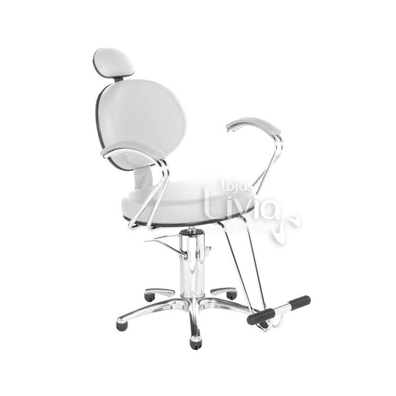 Cadeira Cromit Carol Premium Fixa Branco