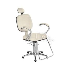 Cadeira Cromit Corsa Luxo Reclinável Areia Facto