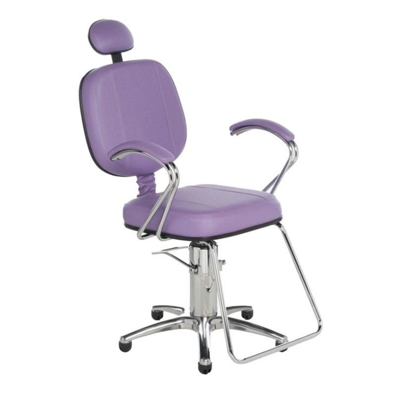 Cadeira Cromit Corsa Luxo Reclinável Lilás