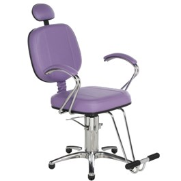 Cadeira Cromit Corsa Premium Fixa Lilás