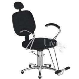 Cadeira Cromit Corsa Premium Fixa Preto