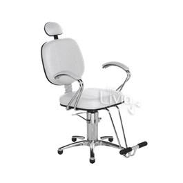 Cadeira Cromit Corsa Premium Reclinável Branco