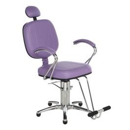 Cadeira Cromit Corsa Premium Reclinável Lilás