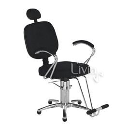 Cadeira Cromit Corsa Premium Reclinável Preto