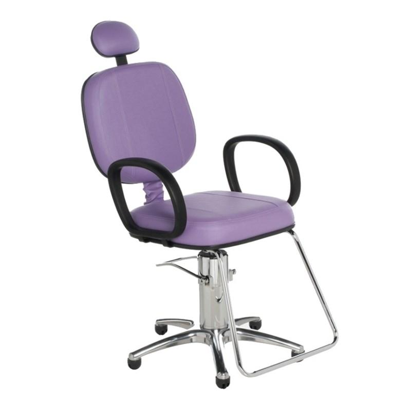 Cadeira Cromit Corsa Standard Fixa Lilás