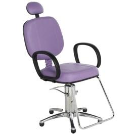 Cadeira Cromit Corsa Standard Reclinável Lilás