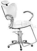 Cadeira Cromit Grécia Luxo Fixa Branco