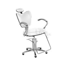 Cadeira Cromit Grécia Luxo Reclinável Branco
