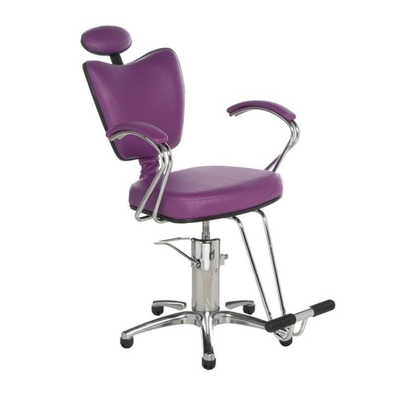 Cadeira Cromit Grécia Premium Fixa Roxo Facto