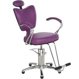 Cadeira Cromit Grécia Premium Reclinável Roxo Facto