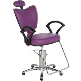Cadeira Cromit Grécia Standard Reclinável Roxo Facto