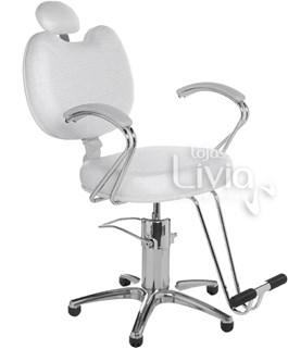 Cadeira Cromit Luana Premium Fixa Branco