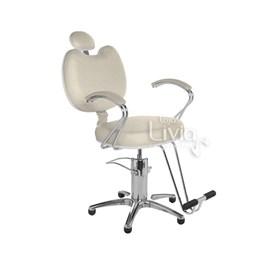 Cadeira Cromit Luana Premium Reclinável Areia Facto