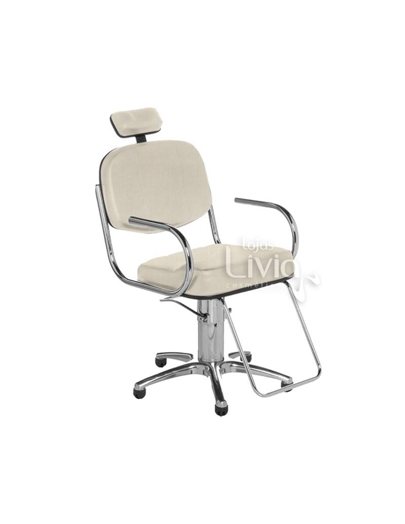 Cadeira Cromit Pratic Fixa Areia Facto