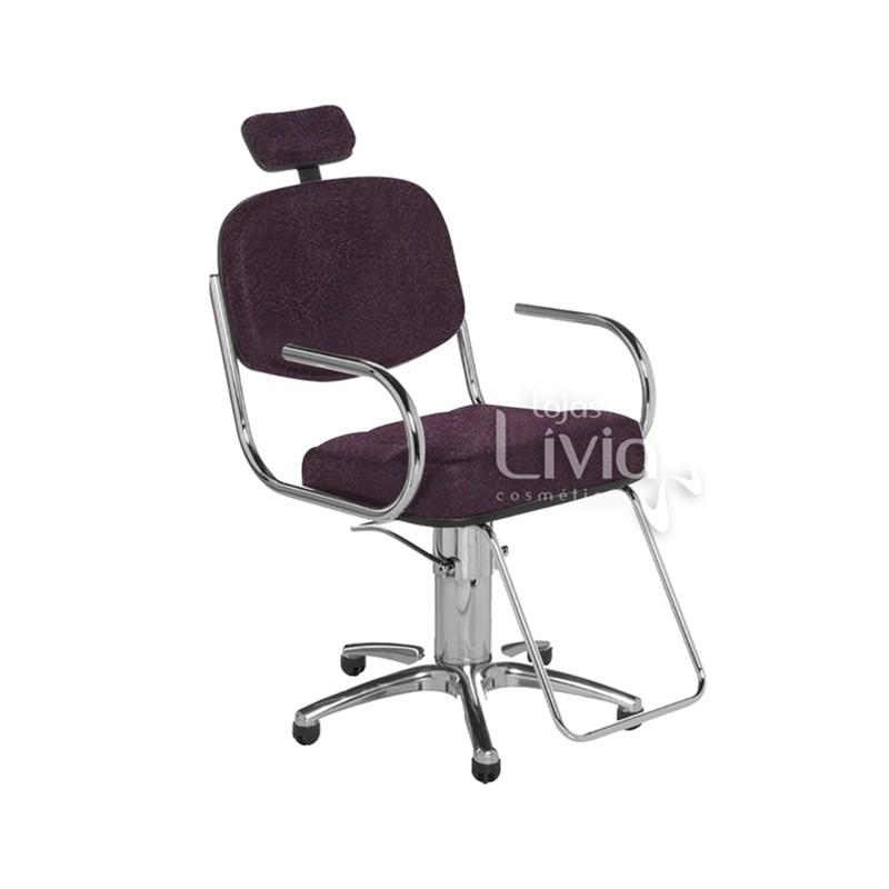Cadeira Cromit Pratic Fixa Bordo