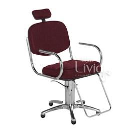 Cadeira Cromit Pratic Fixa Vinho Facto
