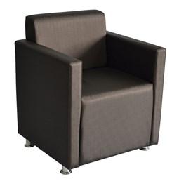 Cadeira de Espera Terra Santa Monet Marrom Acetinado