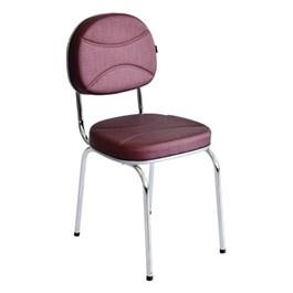 Cadeira de Espera Terra Santa Splendore Bordô Acetinado