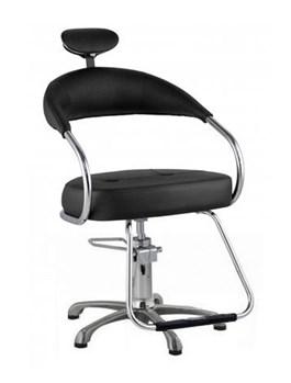 Cadeira Dompel Futura Fixa Preto