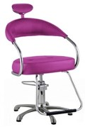 Cadeira Dompel Futura Fixa Rosa