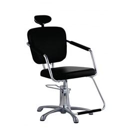 Cadeira Dompel Nix Fixa Preta