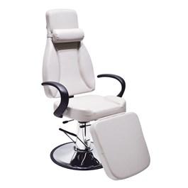 Cadeira Estética Terra Santa Monalisa Reclinável Branco Acetinado