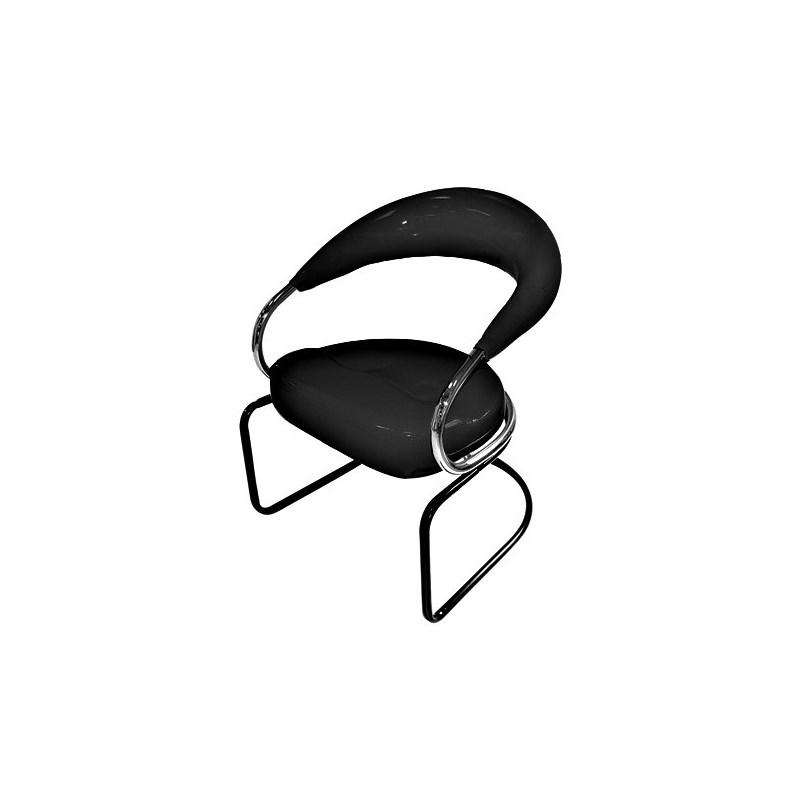 Cadeira Hatten Redonda Duda Preto