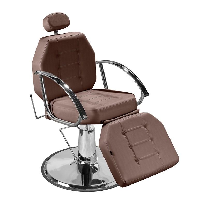 Cadeira Maquiagem Marri Línea Reclinável Café Facto