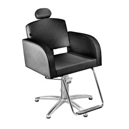 Cadeira Marri Sofia Fixa Preto