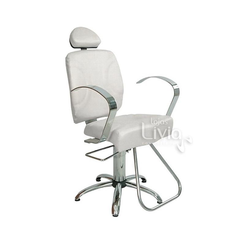 Cadeira Status Bella Fixa Branco Factor