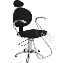 Cadeira Status Polly Fixa Preto Factor