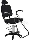 Cadeira Status Pop Slim Fixa Preto Factor