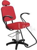 Cadeira Status Pop Slim Fixa Vermelho Factor