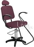Cadeira Status Pop Slim Fixa Vinho Factor