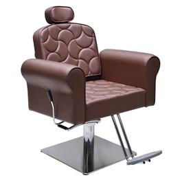 Cadeira Terra Santa Catherine Fixa Bordô Acetinado