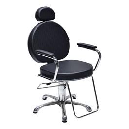 Cadeira Terra Santa Master Fixa Preto Acetinado