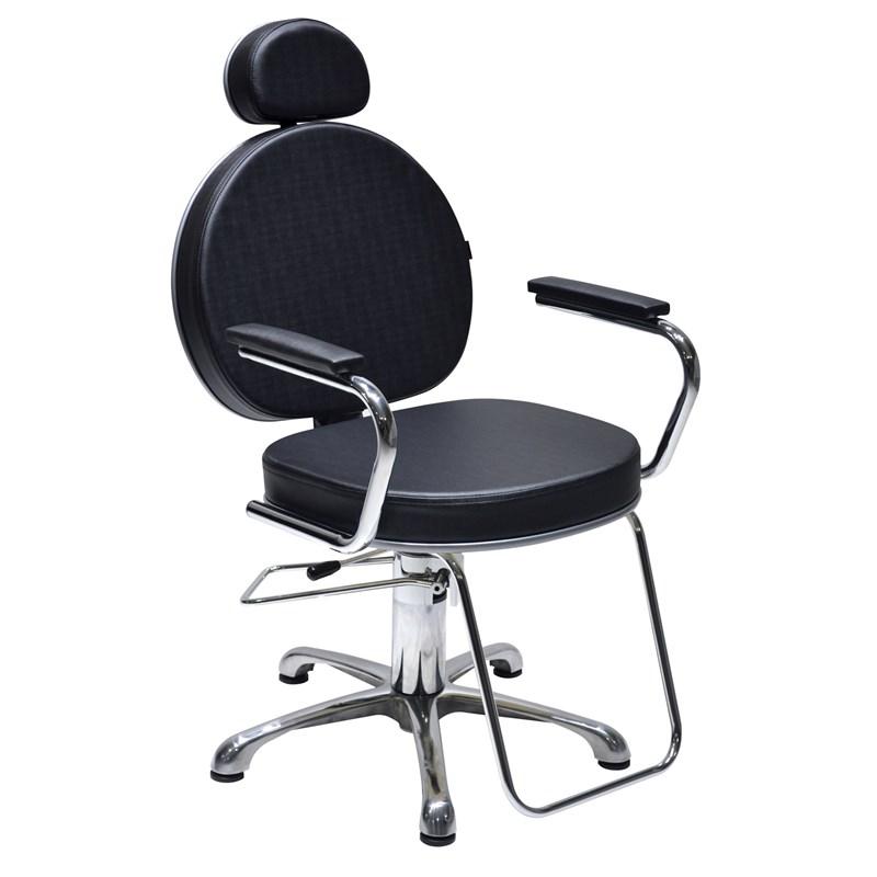 Cadeira Terra Santa Master Reclinável Preto Acetinado
