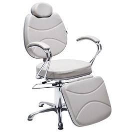 Cadeira Terra Santa Splendore Reclinável Branco Acetinado
